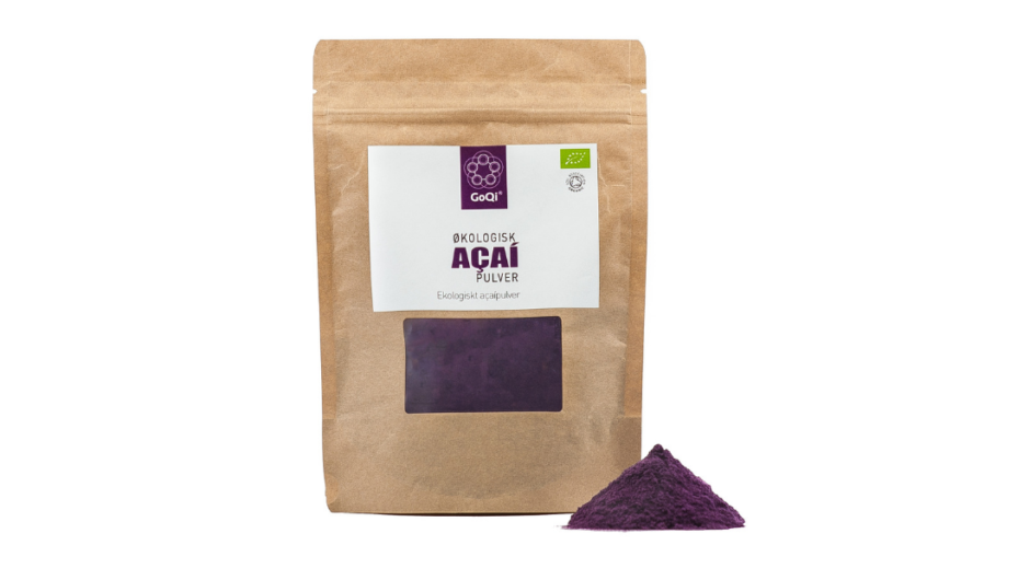 Økologisk Acai pulver
