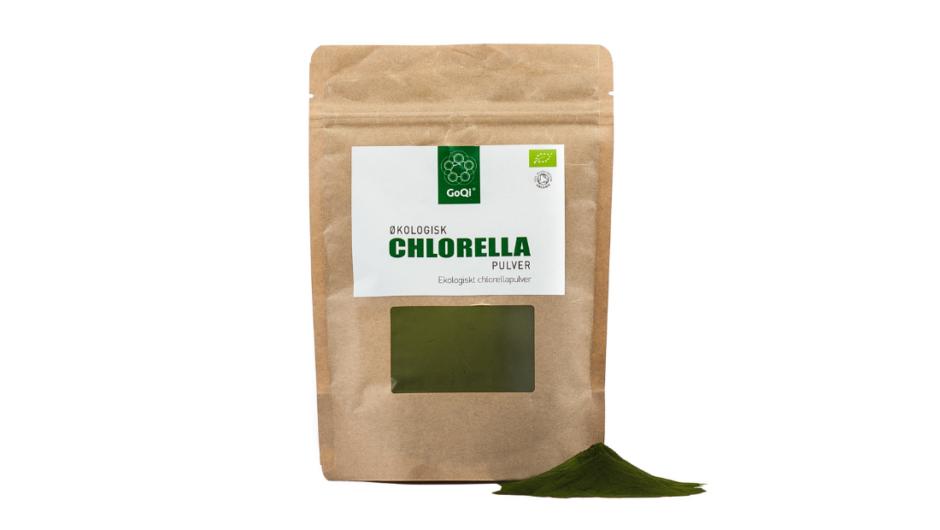 Økologisk Chlorella pulver